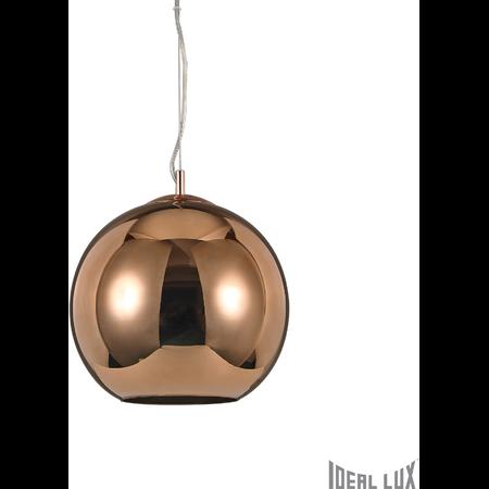 Pendul Nemo D50, 1 bec, dulie E27, D:500mm, H:700/1500mm, Cupru Ideal Lux