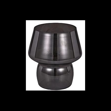 Veioza Zeno Small Fumè 1 bec, dulie E14, D:120mm, H:140mm, Fumuriu Ideal Lux