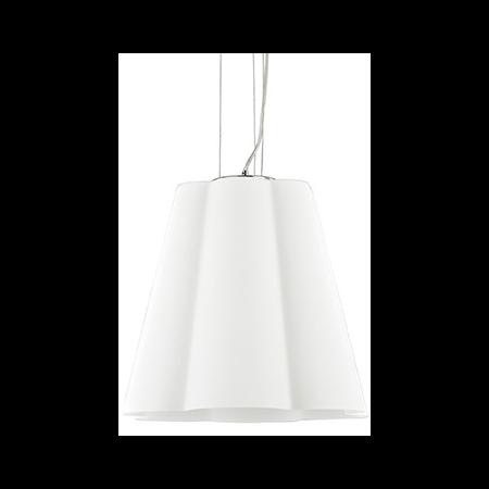 Lustra Sesto D35, 1 bec, dulie E27, D:350mm, H:600/1200mm, Alb Ideal Lux