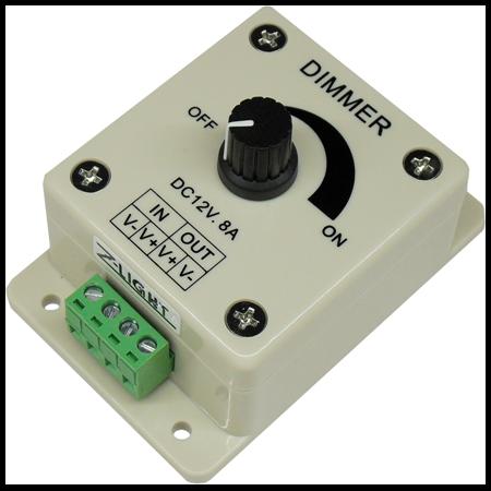 Variator banda LED 12V sau 24V 96-192W Cavi