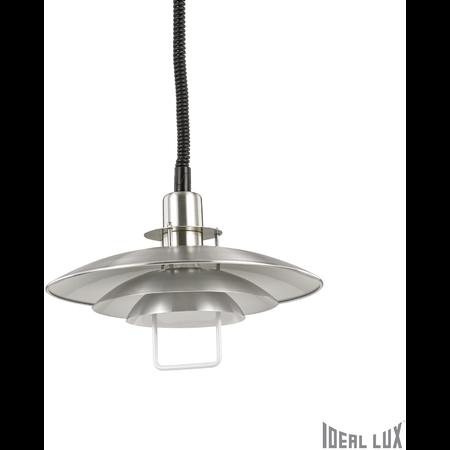 Pendul Copenhagen, 1 bec, dulie E27, D:430 mm, H:700/1650 mm, Aluminiu Ideal Lux