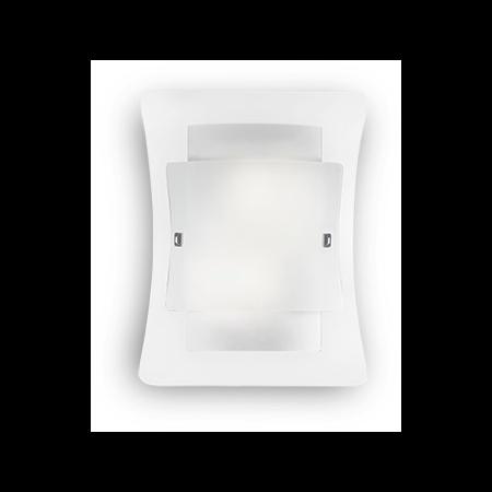 Aplica Triplo, 2 becuri, dulie E27, L:295 mm, H:380 mm, Transparenta Ideal Lux