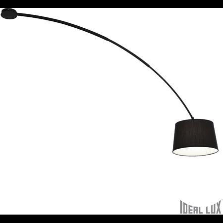 Plafoniera Dorsale 1 bec, dulie E27, L:320 mm, H:1450 mm, Negru Ideal Lux