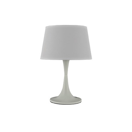 Veioza London Mare, 1 bec, dulie E27, D:320 mm, H:485 mm, Alb Ideal Lux