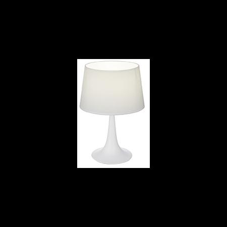 Veioza London Mica, 1 bec, dulie E27, D:235 mm, H:365 mm, Alb Ideal Lux