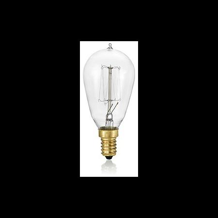 Bec incandescent decorativ Cono, 40W, E14, 130Lm Ideal Lux