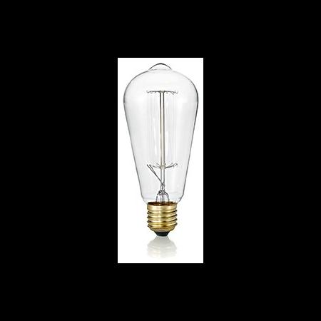 Bec incandescent decorativ Cono, 40W, E27, 130Lm Ideal Lux