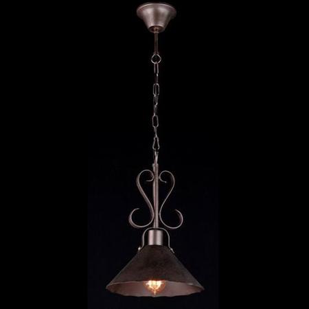 Lampa suspendata  House Iron,1 x E27, 230V, D.25cm,H.39 cm,Maro inchis Maytoni