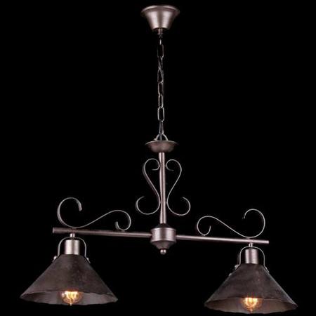 Lampa suspendata  House Iron,2 x E27, 230V, D.75cm,H.48 cm,Maro inchis Maytoni