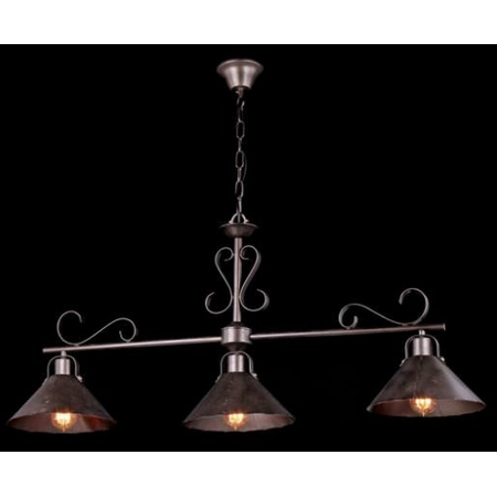 Lampa suspendata  House Iron,3 x E27, 230V, D.101cm,H.50 cm,Maro inchis Maytoni