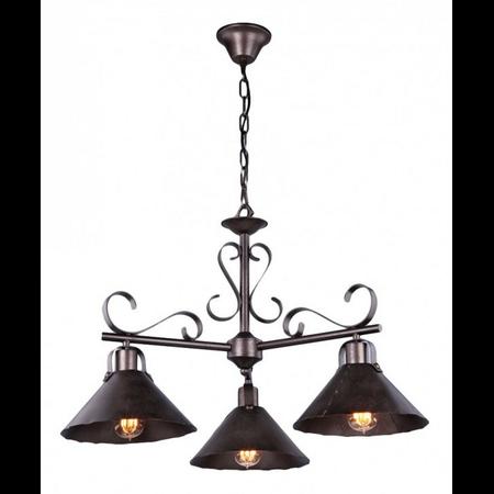 Lampa suspendata  House Iron,3 x E27, 230V, D.75cm,H.48 cm,Maro inchis Maytoni