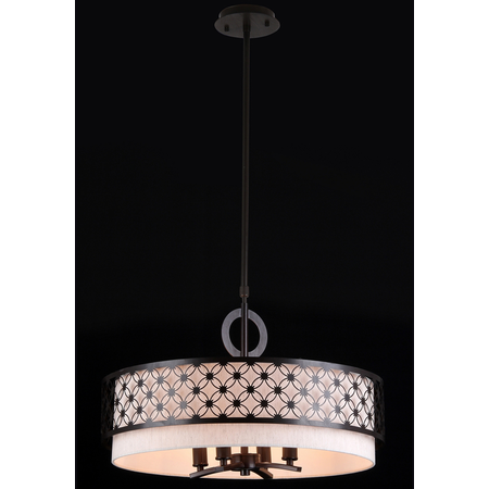 Lampa suspendata  House Venera,4 x E14, 230V, D.55cm,H.33 cm,Maro inchis Maytoni