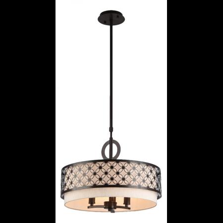 Lampa suspendata  House Venera,3 x E14, 230V, D.46cm,H.35 cm,Maro inchis Maytoni