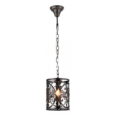 Lampa suspendata  House Rustika,1 x E14, 230V, D.18cm,H.27 cm,Maro inchis Maytoni