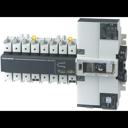 Inversor de sursa motorizat ATyS d M - 4P 125A 230Vac  Socomec