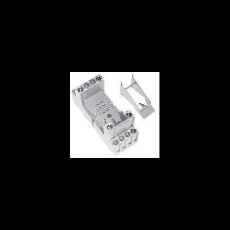 clema de fixare metalica pentru releu fisabil miniatura 2 contacte comutatoare General Electric