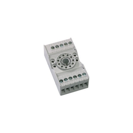 clema de fixare pentru releu fisabil standard 11 pini, 3 contacte comutatoare General Electric