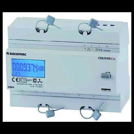 Contor trifazic ENERGY METER COUNTIS E30,100A DIRECT-3 PHASE Socomec