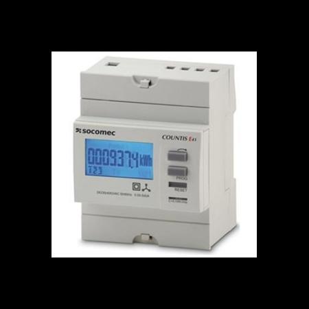 Contor trifazic ENERGY METER COUNTIS E40,VIA CT Socomec