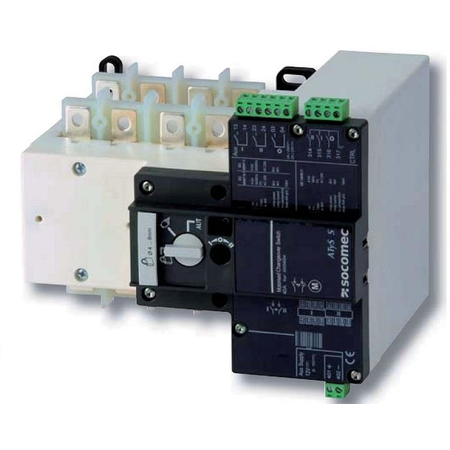 Inversor de sursa universal ATyS S 4X80A control electric 12Vdc Socomec