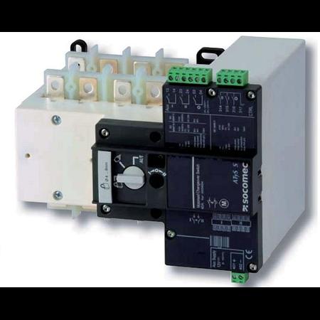 Inversor de sursa universal ATyS S 4X125A control electric 230Vac Socomec