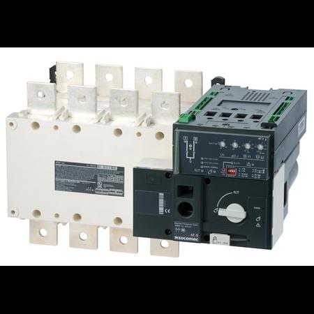 Inversoare de surse motorizate si automate ATyS g 4X1600A,control automat,208/277Vac Socomec