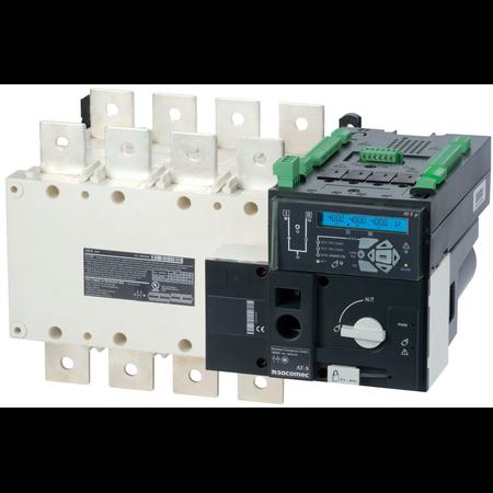 Inversoare de surse motorizate si automate ATyS p 4X800A,control automat,208/277 Vac Socomec