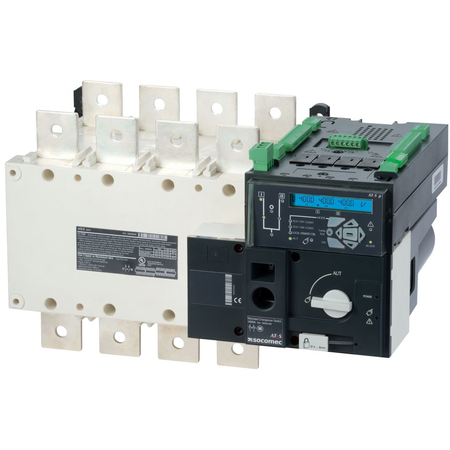 Inversoare de surse motorizate si automate ATyS p 4X1250A,control automat,208/277 Vac Socomec