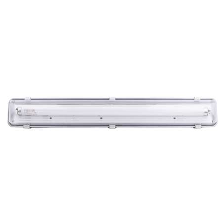 Lampa tehnica medii umede,1 x 36W,tub fluorescent T8 ,IP65,L:127 cm,acril,electronic Airfal