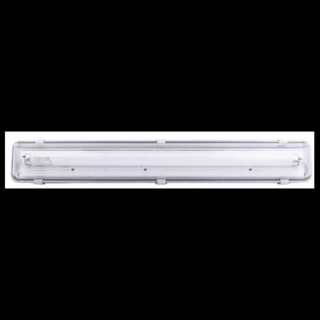 Lampa tehnica medii umede,1 x 58W,tub fluorescent T8 ,IP65,L:157 cm,acril,dimabil Airfal