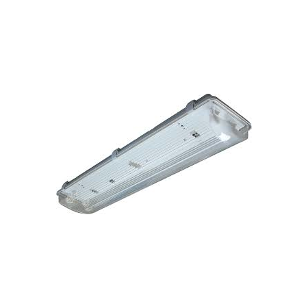 Lampa tehnica medii umede,2 x 36W,tub fluorescent T8 ,IP65,L:157 cm,acril,electronic Airfal
