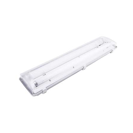 Lampa tehnica medii dure,2 x 14W,tub fluorescent T5 ,IP65,L:66 cm,acril,electronic Airfal