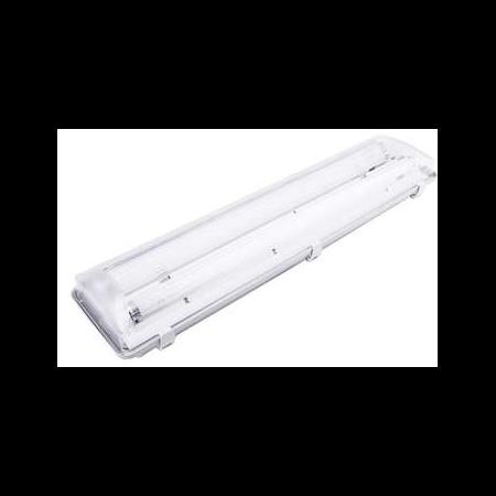 Lampa tehnica medii dure,2 x 24W,tub fluorescent T5 ,IP65,L:66 cm,acril,dimabil Airfal