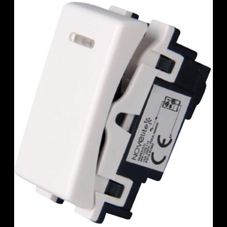 Intrerupator cu led alb  1modul NV1220.115 Novelite