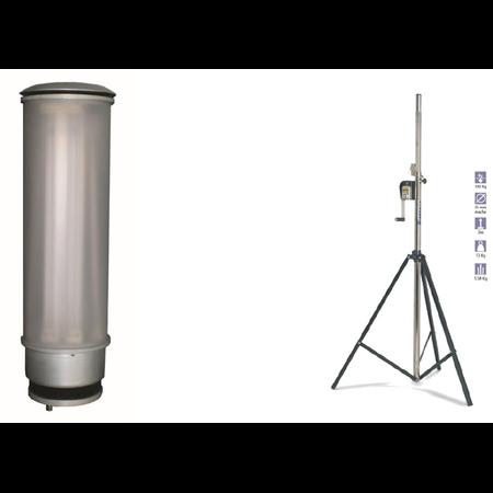 Lampa  iluminare spatii exterioare intinse ideala pentru  organizari de santier 8x40W Airfal