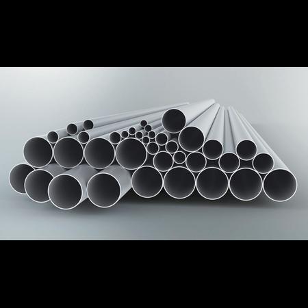 Tub metalic din aluminiu pentru cabluri electrice,D.ext.63 mm Fintech
