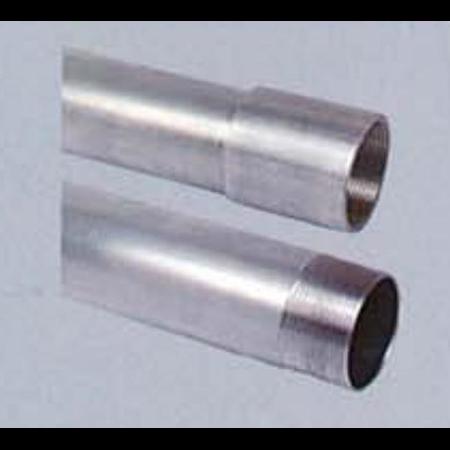 Teava aluminiu filetata cu 1 manson filetat, D.ext:25 mm,D.int. 22 mm Fintech
