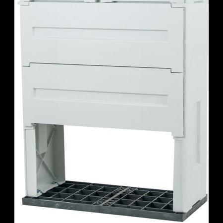 Soclu pentru dulap din poliester armat cu fibra de sticla ( PAFS) 266x400x250 Comtec