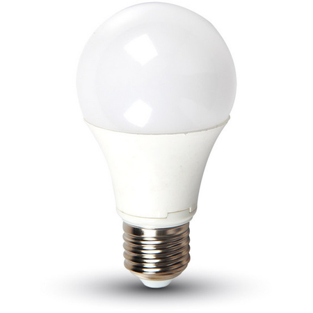 Bec cu LED-uri - 20W E27 A65/A80 radiator aluminiu lumina alb rece 6400K Comtec