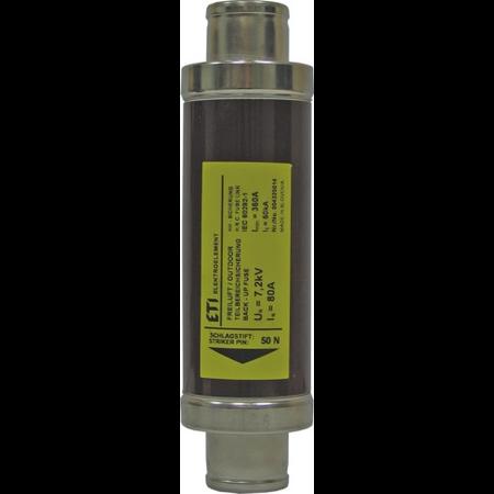 Siguranta fuzibila medie tensiune 12kv 80A  Eti