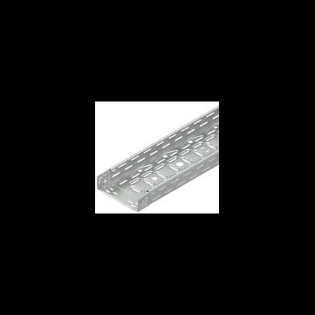 Jgheab metalic din Inox H 60mm,l 100mm,L 3000mm  Niedax