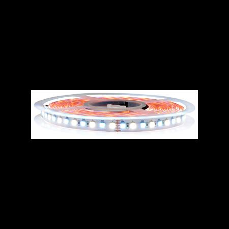 Banda led profesionala 5 metri, culoare alb cald candle 2100k+RGB 26,5w/m 24vdc Cavi