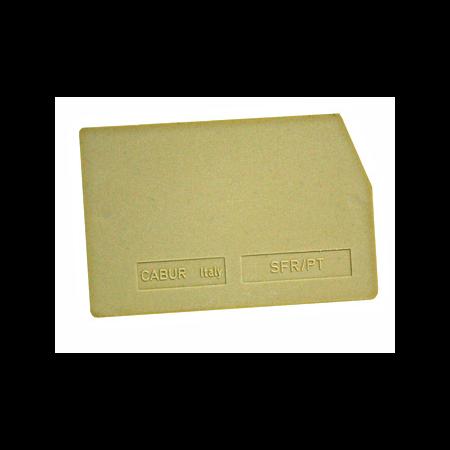Capac pentru clema cu fuzibil 0.2-6mmp  Schrack