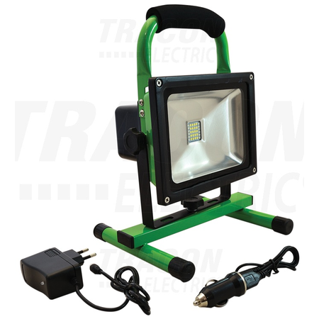 Proiector LED, portabil, cu acumulator si functie de urgenta 20W 10Ah 8.4V Tracon