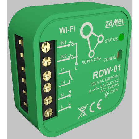 Releu jaluzele  wireless WIFI inteligent cu comanda din telefon via internet  Zamel