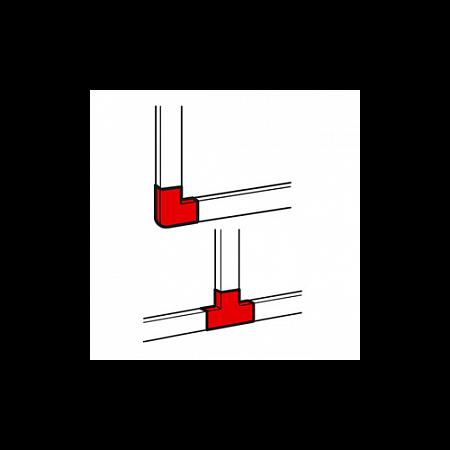 Derivatie plana pentru  profil DLP-S 80x50  Legrand
