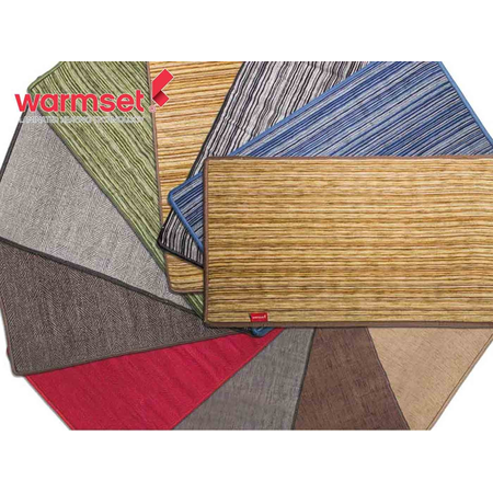 Carpeta incalzitoare 100 W  dimensiuni 75 x 50 mm  Warmset