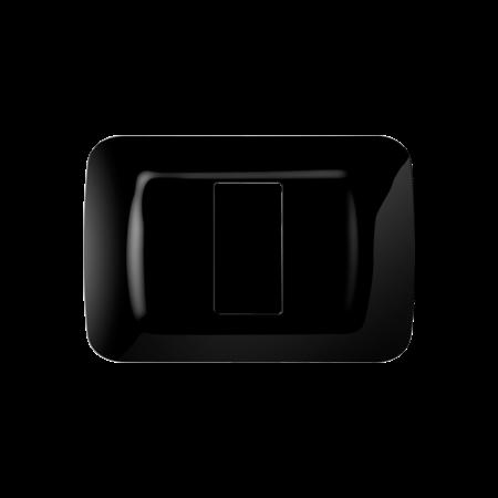 Placa ornament Toner Negru 1 modul Gewiss System  Gewiss