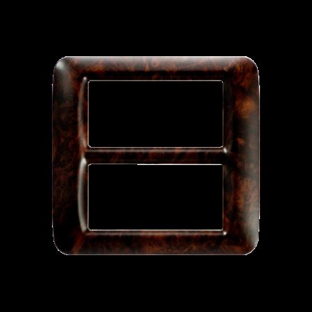 Placa ornament Alun Englezesc 8 (4+4) module  Gewiss System  Gewiss