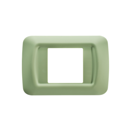 Placa ornament Verde Venetian 2 module  Gewiss System  Gewiss